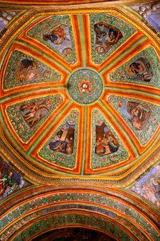 Free Cupola Of Sangre De Cristo Church, Teotitlan Stock Photos - 22828943