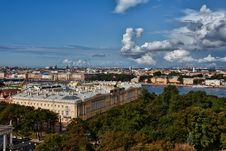 Free Urban Landscape, The City Of St. Petersburg Royalty Free Stock Photos - 22829828