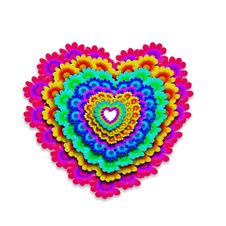 Free Colorful Heart Happy Royalty Free Stock Photography - 22829907