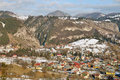Free Snowy Landscape Village Stock Images - 22836074