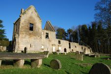 Free Remains Of St. Bridgets Kirk Royalty Free Stock Images - 22830349