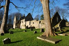 St. Bridgets Kirk Remains Royalty Free Stock Image
