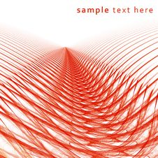 Free Red Perspective Abstraction Royalty Free Stock Photography - 22832657