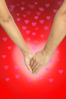Free Love Hands, Love Background Royalty Free Stock Images - 22835269
