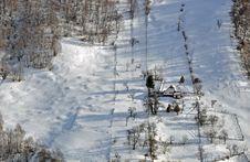 Free Mountain Winter House Stock Image - 22835931