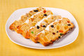 Free Stollen - German Traditional Christmas Cakes Royalty Free Stock Image - 22843366