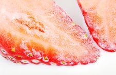 Free Half Of Stravberry. Stock Photos - 22840093