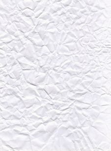 Free Texture Of Crumpled White Paper Stock Images - 22841984