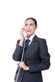Free Businesswoman Speaking On Phone Stock Images - 22842654