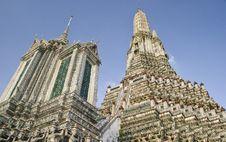 Free Wat Arun In Bangkok Stock Photos - 22843323