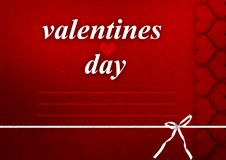 Free Valentines Card Royalty Free Stock Image - 22844296