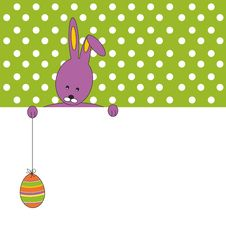 Free Happy Easter Card Stock Image - 22845061