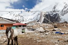 Free Mountain Village In Nepal Stock Photography - 22845142