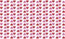 Free Background With Hearts Royalty Free Stock Image - 22845516