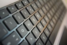 Free Qwerty Keyboard Stock Photography - 22846312