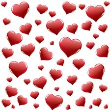 Free Background From Hearts Stock Images - 22847254