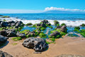 Free Rocks, Pacific Ocean The Island Of Maui Royalty Free Stock Photos - 22851898