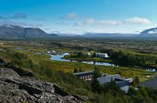 Free View Over Rural Iceland Stock Photo - 22851730