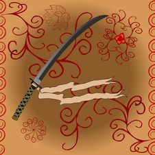 Free Katana Sword Stock Photos - 22855673