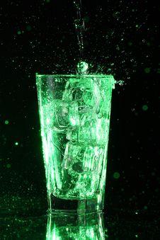 Free Green Acid Cocktail Royalty Free Stock Photos - 22855918