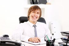 Free Young And Successful Businessman Royalty Free Stock Photography - 22856357