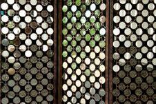 Free Many Round Mirrors On Wood Royalty Free Stock Image - 22857996