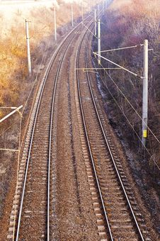 Free An Electric Railway Stock Photo - 22858140
