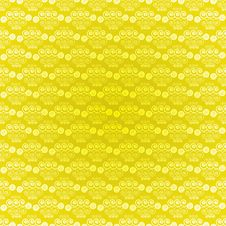 Seamless Pattern Light Yellow Spirals Stock Photos