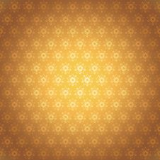 Seamless Pattern Golden Stars Royalty Free Stock Photo