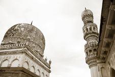 Free Qutb Shahi Tombs Royalty Free Stock Photography - 22862767