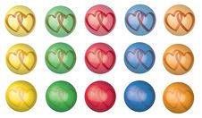 Free Hearts In Bubble Royalty Free Stock Images - 22863819
