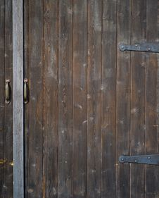 Free Wooden Door Royalty Free Stock Photos - 22865908