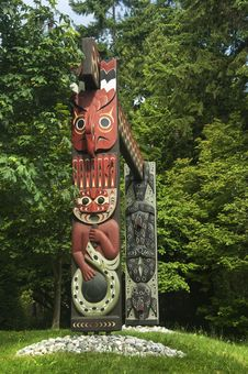 Free TOTEM PARK AT THE PROVINCIAL MUSEUM Royalty Free Stock Images - 22866729