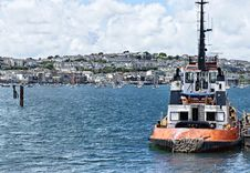 Free Tugboat Royalty Free Stock Photography - 22867137