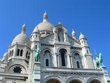 Free Sacre Ceure Cathedral Paris Stock Photo - 22869330