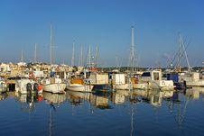 Free Porto Colom Pier Stock Photography - 22869542