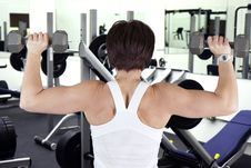 Free Work Out Woman Stock Photography - 22869802