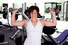 Free Work Out Woman Stock Image - 22869811