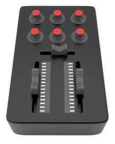 Free DJ Mixer Royalty Free Stock Image - 22871976