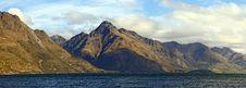 Free Panorama Lake Wakatipu Queenstown New Zealand Royalty Free Stock Image - 22875486