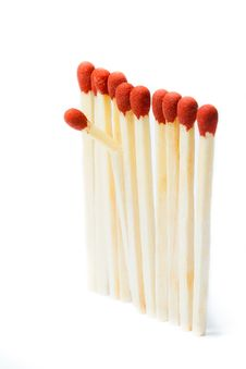 Free Matchsticks Royalty Free Stock Images - 22880759