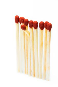Free Matchsticks Royalty Free Stock Photo - 22880805