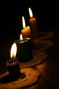 Free Candles Royalty Free Stock Photos - 22881048
