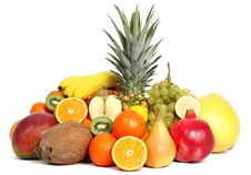 Free Group Of Fruits Royalty Free Stock Photo - 22881815
