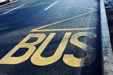 Free Buss Station Royalty Free Stock Photography - 22882097