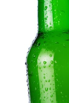 Free Beer Bottle With Copy Space Stock Image - 22883141