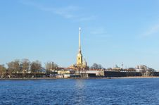 Free The Peter And Paul Fortress Royalty Free Stock Photos - 22888078