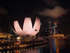 The Marina Bay Waterfront Royalty Free Stock Photos