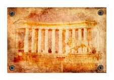 Free Texture Of Greek Colonnade Royalty Free Stock Images - 22894279