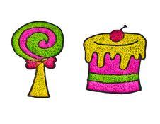 Free Kindergarten Group Work Of Tissue Art Stock Image - 22896511